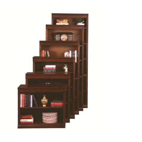 Aspen Home Office Furniture Cb3436 Bch Aspen Home Furniture Cambridge Bookcase Brown Cherry