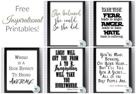 Office Free Printable free inspirational printables office printables some