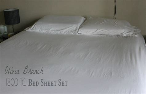 bed sheet review sweet home collection olivia branch bed sheet set review