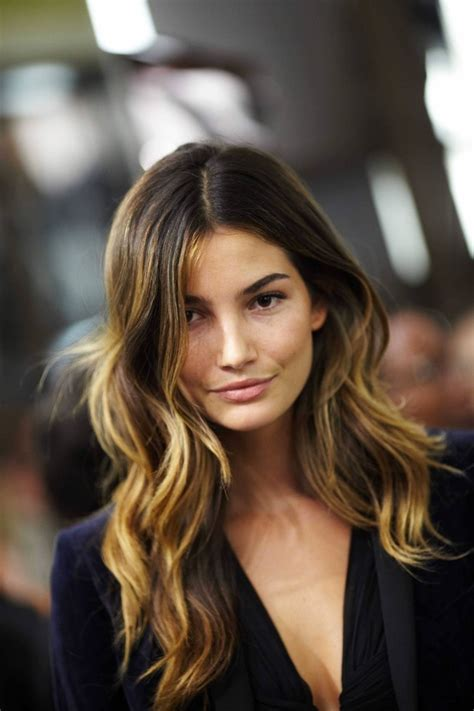 ambrey hair color lily aldridge ombre hair hair colors ideas