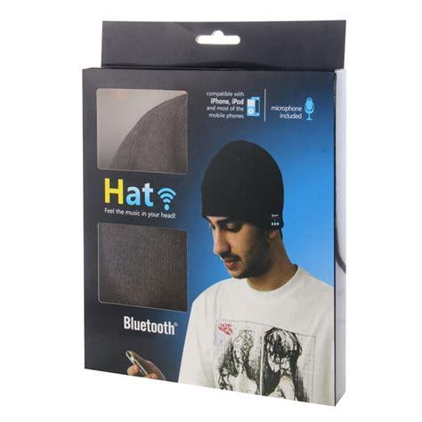 bonnet connect 233 iphone android ecouteur bluetooth micro int 233 gr 233 gris