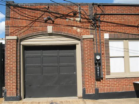 Utility Garage Door Brick Black Garage Door Utility Meter Grunge Texture For Me