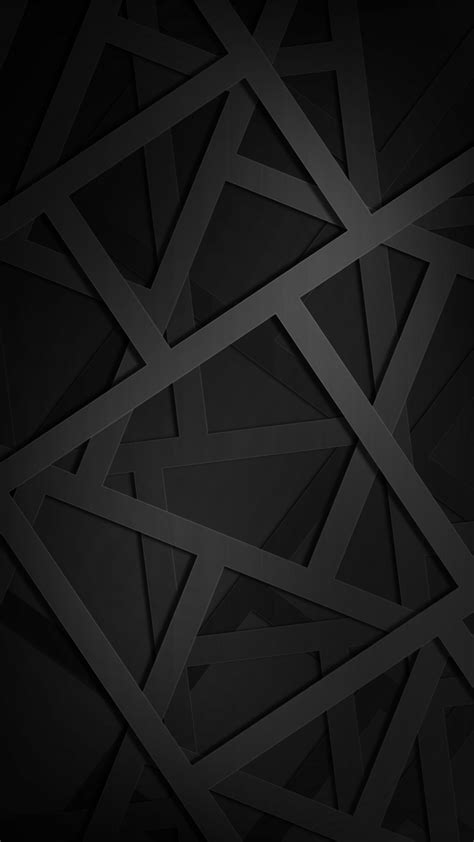 geometric black hd wallpaper   mobile phone
