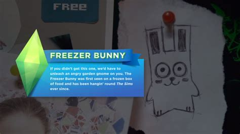 freezer bunny sims 4 24 pistas escondidas en el trailer de llegada los sims 4