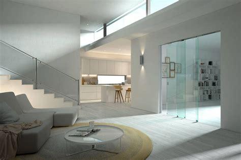vetrate per interni scorrevoli porte scorrevoli in vetro per interni dal design moderno
