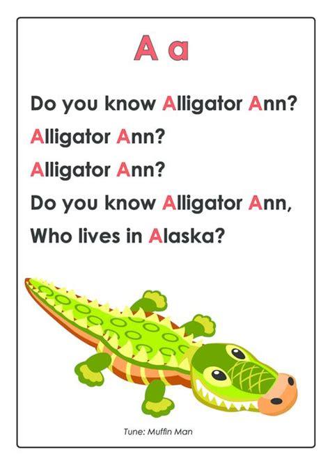 Letter Songs For Preschool