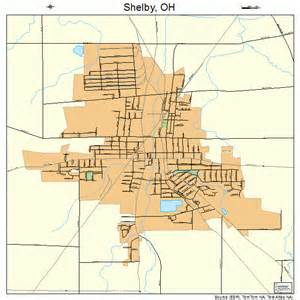 shelby ohio map 3972102