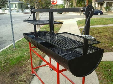1000 Images About Grill On Drums Backyards And How To Build Santa Bbq Grill For Sale Freshly Made Out Of Food Grade 55 Gallon Barrels Plenty Of