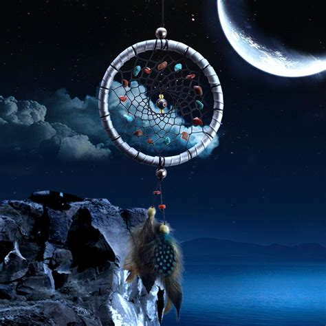 dreamcatcher full moon full moon dream catcher lovepeaceboho