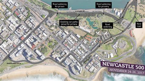 pcb design jobs sydney what will the newcastle supercars race be like map