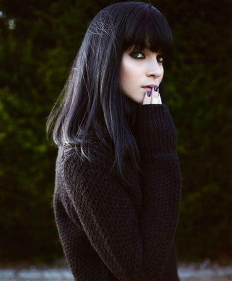 winter bangs 2015 full fringe long winter hairstyles for women 2015 full