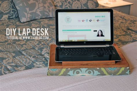 Simple Diy Lap Desk Inspiration Made Simple Diy Laptop Desk