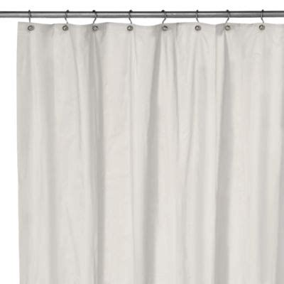 long shower curtains buy extra long shower curtain from bed bath beyond