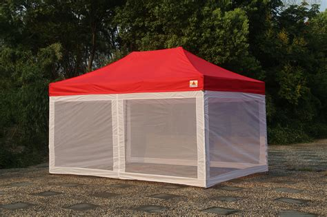 pop up cer awnings and canopies abccanopy commercial pop up canopy screen room 10x15