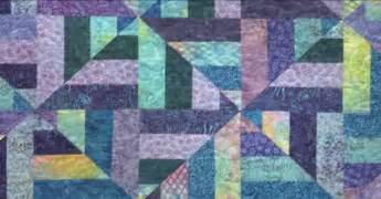 Colorful and beautiful pattern learn how to make a cool water quilt