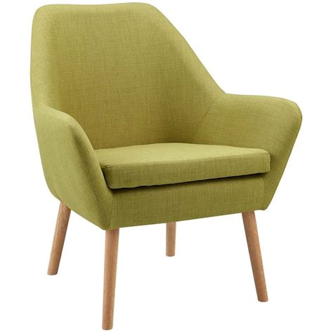 Lime Green Accent Chair Versanora Divano Fabric Accent Chair In Lime Green Vnf 00033g