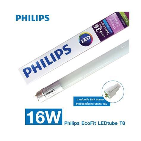 Lu Neon T8 Philips Led Ecofit 16watt Tl 36watt Cool Daylight b 243 ng đ 232 n led 16w 1m2 ecofit philips