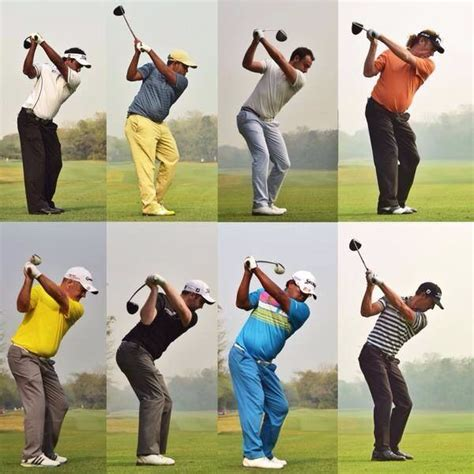 best of swing all tour pros all different at the top of