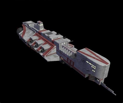 hermes class light cruiser image metroid federation at