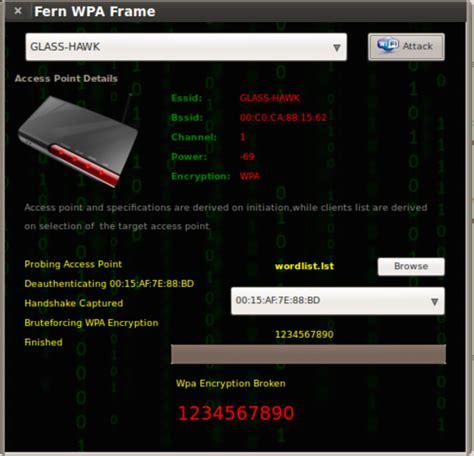 tutorial hack wifi ubuntu fern wifi cracker a wireless penetration testing tool