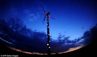 generator for christmas lights at last a wind turbine that isn t a total eyesore