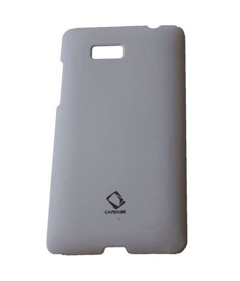 Cover Capdase capdase back cover for htc desire 600 white