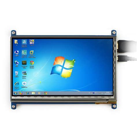 Raspberry Pi 7 Inchi Ips Lcd Capacitive Touchscreen Waveshare waveshare 7 inch rev2 1 1024x600 capacitive touch screen