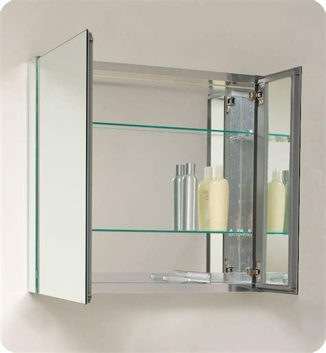 """29.75"""" Fresca (FMC8090) Medium Bathroom Medicine Cabinet w"""