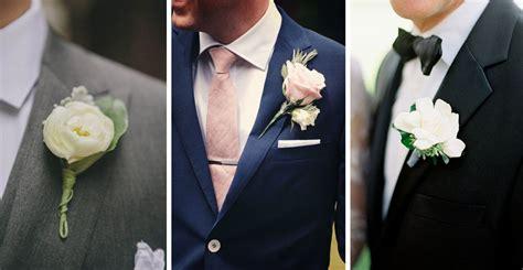 fiore sposo la boutonni 232 re dello sposo tanti stili per il fiore all