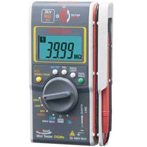 Multimeter Digital Ukuran Saku sanwa dg36a hybrid insulation resistance tester meter digital