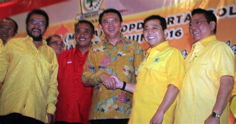 ahok novanto golkar declares support for ahok metro tempo co