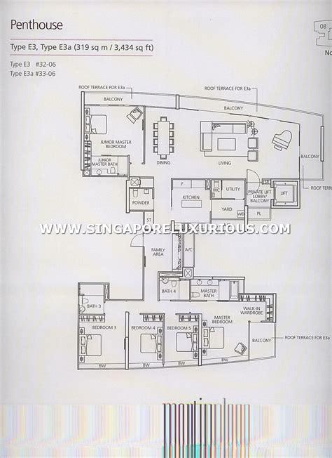 St Thomas Suites Floor Plan by Martin Place Residences Site Amp Floor Plan Singapore