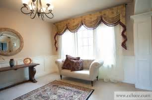 Swag Valances For Living Room Versailles Premium Designer Swag Valances