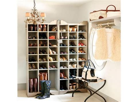 luxury shoe storage prestigious styled chandelier hung beside unique stool and
