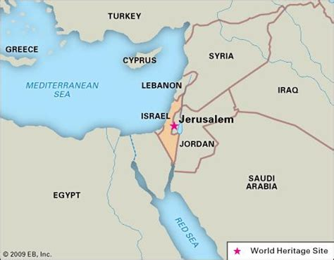 where is jerusalem located on the world map jerusalem middle east britannica