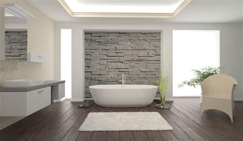 bad tub ideen badezimmer fliesen holzoptik rustikal gispatcher