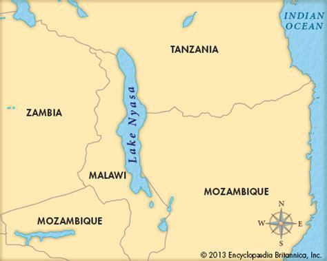 africa map lake lake nyasa britannica homework help
