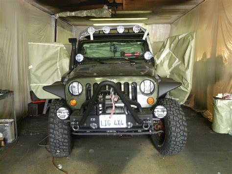 Jeep Valley Line X Of Silicon Valley Protects Jeep Interior Tub
