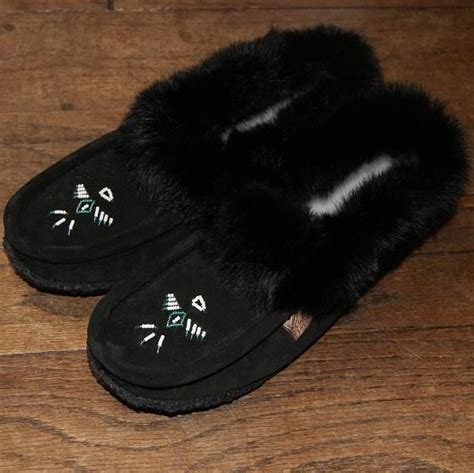 rabbit skin slippers 66 best images about moccasin slippers on warm