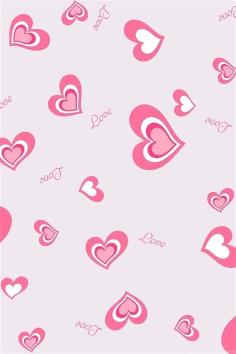 love themes and wallpapers pink love heart backgrounds iphone wallpapers backgrounds