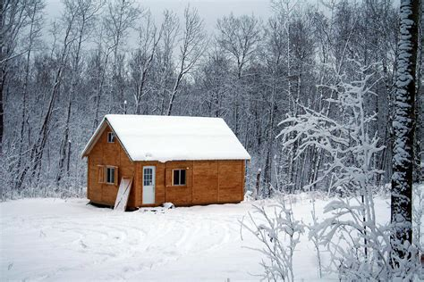 image gallery winter cabin