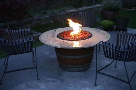 Propane Fire Pit A Unique And Rustic Boulder Fueled By A Firepit Propane