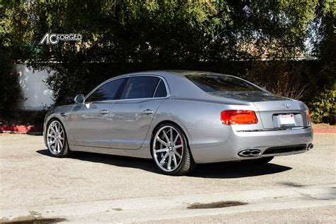 bentley flying spur dimensions bentley flying spur custom wheels ac acr 413 22x9 0 et
