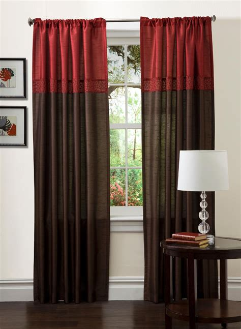curtains at sears red curtains and drapes sears