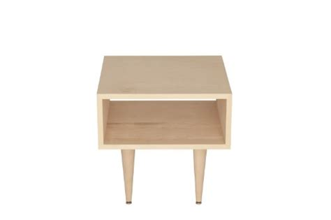 urbangreen furniture maple unfinished midcentury modern