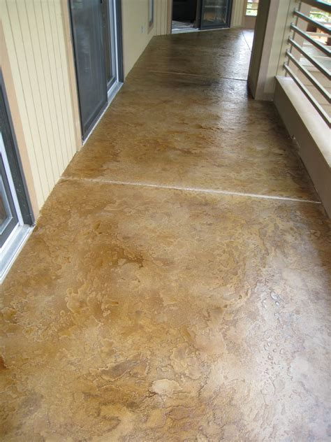 Decorating Concrete Floors by Custom Concrete Design Lake Ozark Decorative Concrete Flooring Coating Overlay Acid Staining