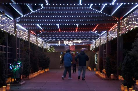 10 Best Christmas Light Displays In Kansas Light Displays Wichita Ks