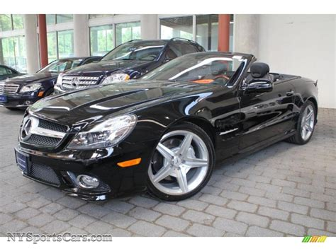 Mercedes 550 Sl For Sale by 2009 Mercedes Sl 550 Roadster In Black 144227