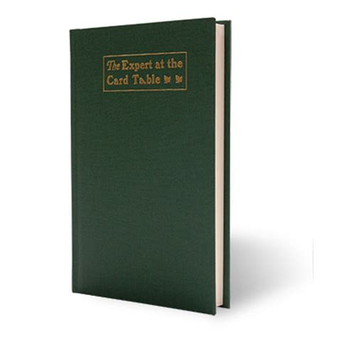 the expert at the card table blank journal by