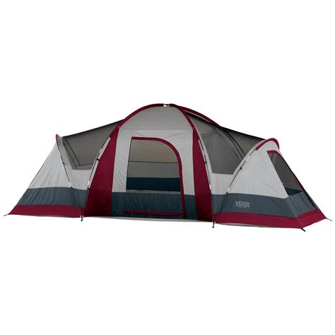 3 Room Family Dome Tent wenzel 174 sycamore 3 room family dome tent 123444